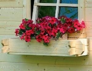 LOG CABINS - Window boxes