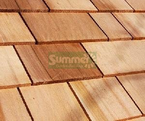 LOG CABINS xx - Cedar shingle roof