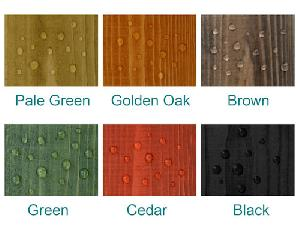 LOG CABINS xx - DIY preservative - waterproof colour seal