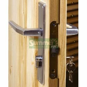 LOG CABINS - Door options