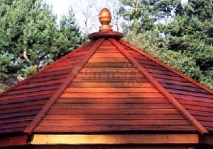SUMMERHOUSES xx - Cedar slatted roof