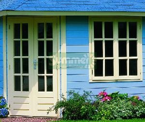 LOG CABINS - Additional Georgian doors and windows - double glazed