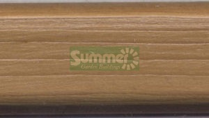 SUMMER HOUSES - Medium Oak external paint colour - large picture