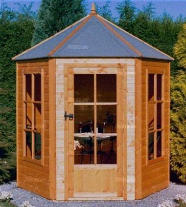 Shire Hexagonal Summerhouse - Georgian