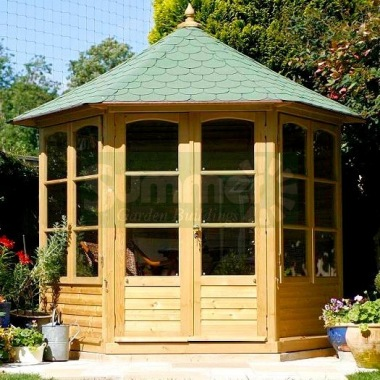 Hexagonal Summerhouse 852 - Pressure Treated