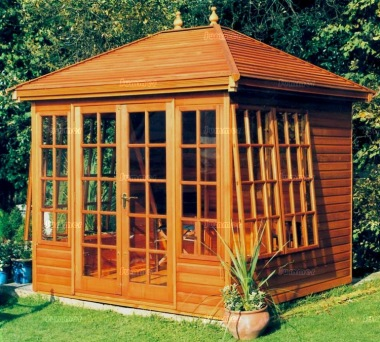 Malvern Tudor Summerhouse - Georgian, Double Door