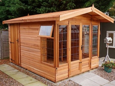 Malvern Newland - Summerhouse and Shed, Leaded