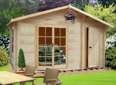 Shire Bourne Log Cabin - Part Summerhouse, Part Shed
