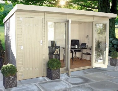 Malvern Studio Pent - Summerhouse and Shed