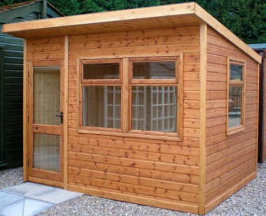Malvern Arley Pent Summerhouse - Double Glazed